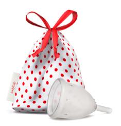 Menstruatiecup transparant