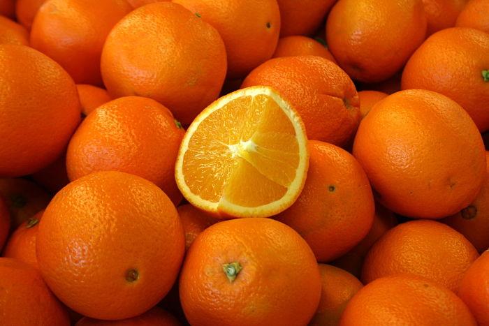 Sinaasappels zijn goed voor je huid