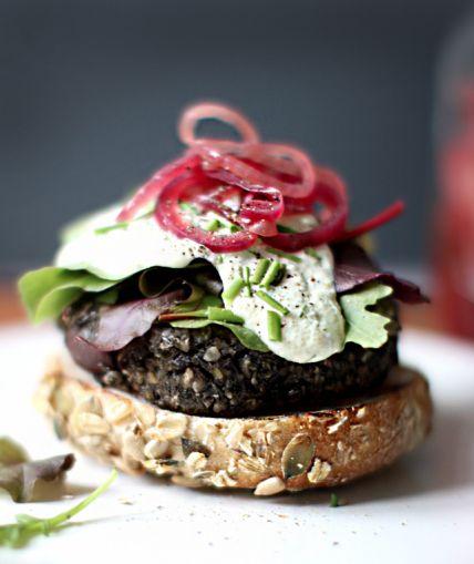 food friday hamburgers wilde champignons