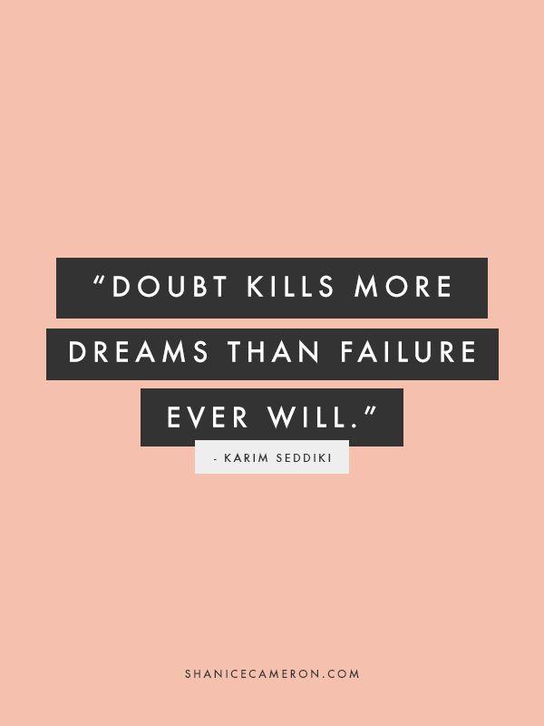 motivatie maandag blue monday quote dreams