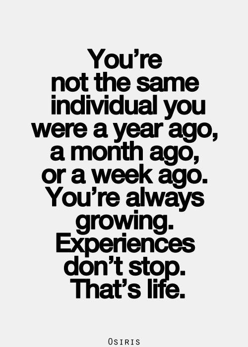 motivatie maandag blue monday quote experiences