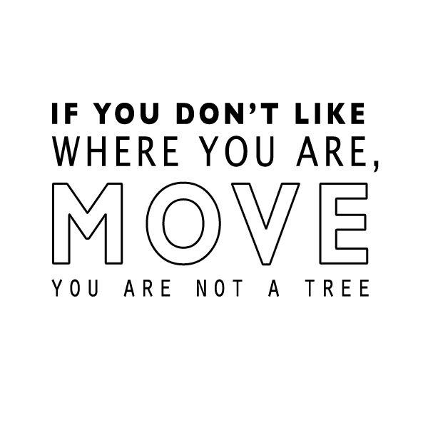 motivatie maandag blue monday quote move