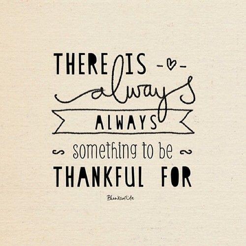 motivatie maandag blue monday quote thankful
