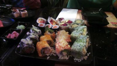 sushi eetdagboek fabienne