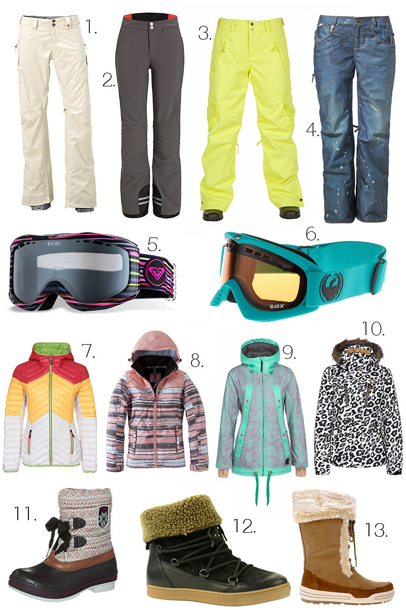 Fashionable wintersportkleding