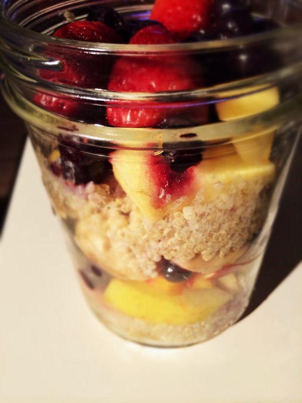 Eetdagboek Britte week 8 quinoa ontbijt