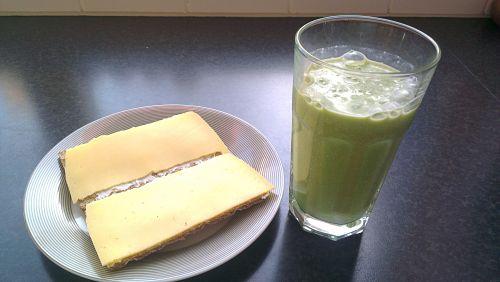 Eetdagboek Fabienne groene smoothie