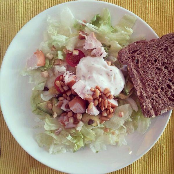 Eetdagboek Marjolein avocado salade
