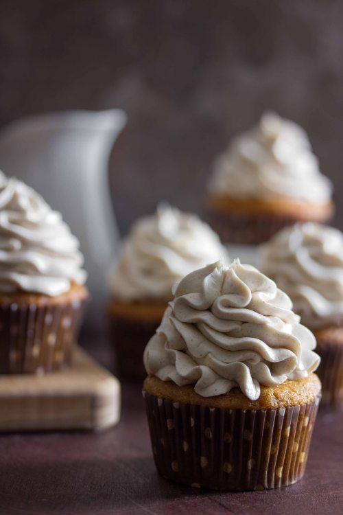 Food friday cupcake met marshmallows