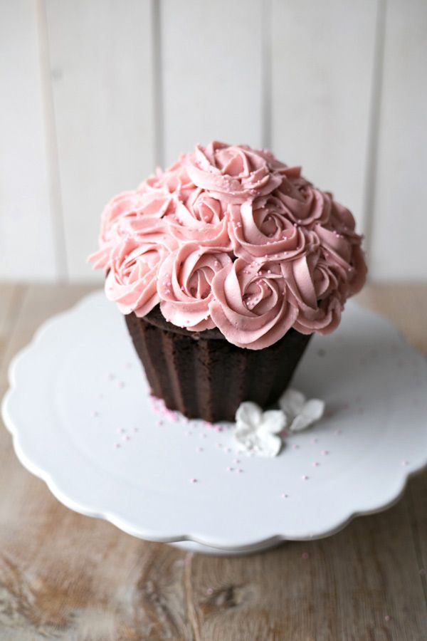 Food friday cupcake met rozen