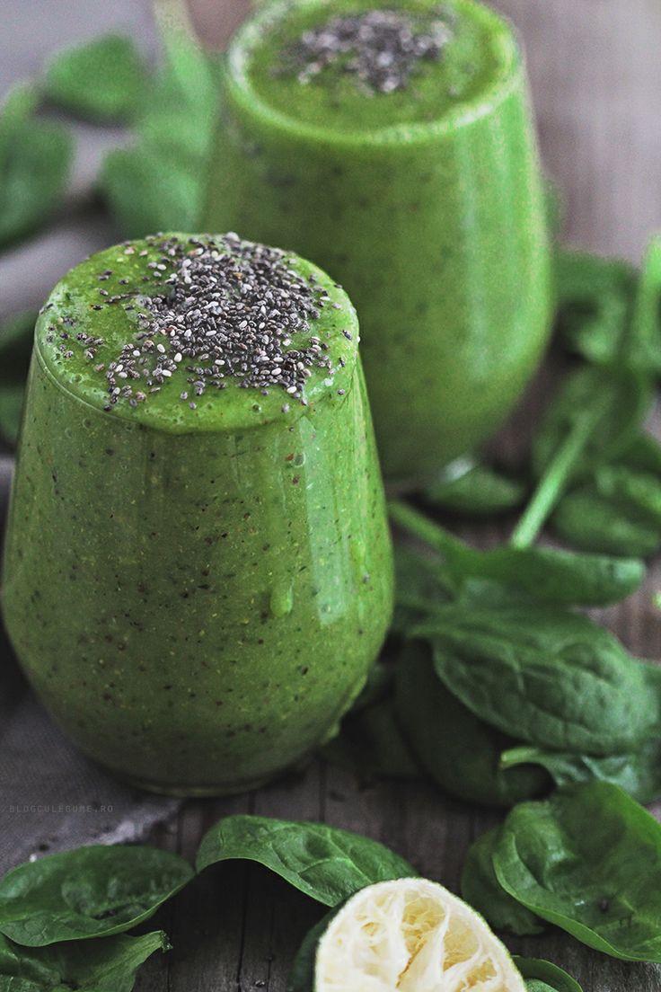 Food friday groene smoothie met chiazaadjes