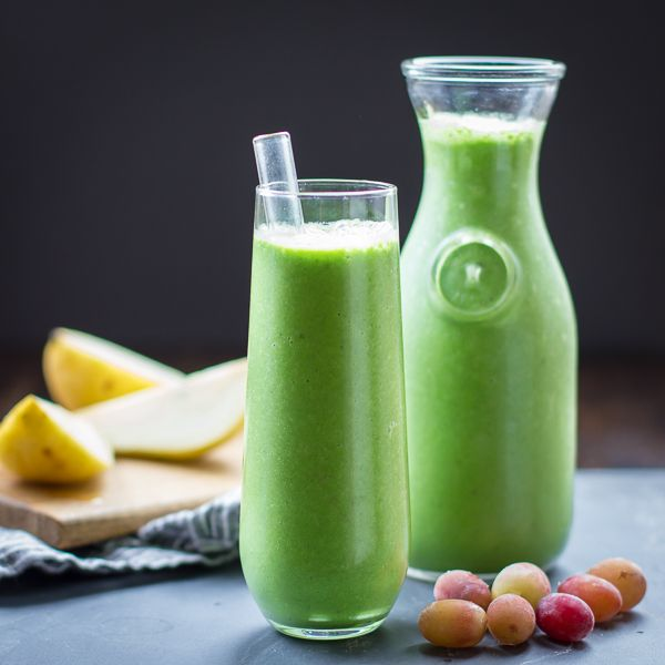 Food friday groene smoothie met druiven