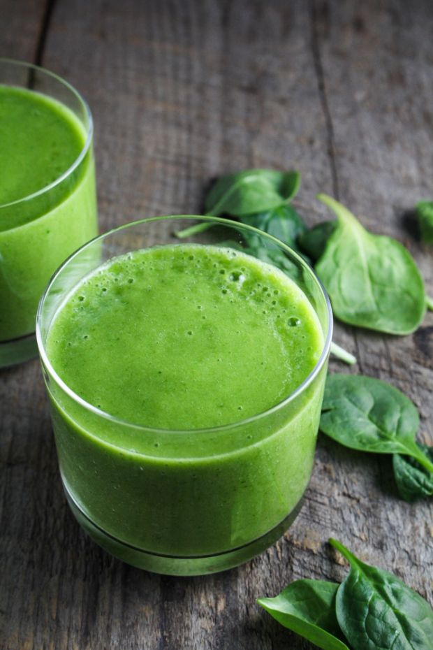 Food friday groene smoothie met spinazie