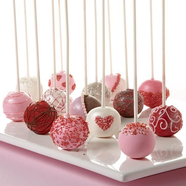 Food friday valentijnsdag cake pops