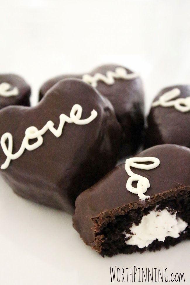 Food friday valentijnsdag taartjes met chocolade
