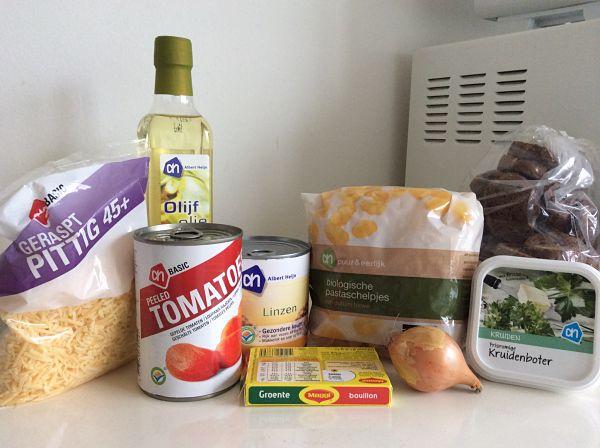 Linzensoep ingrediënten