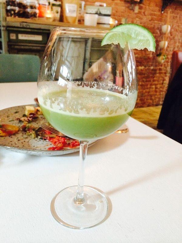 Amsterdam Lavinia Good Food groene veggie cocktail