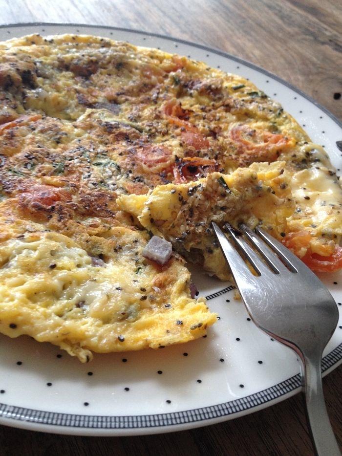 Carmens eetdagboek omelet