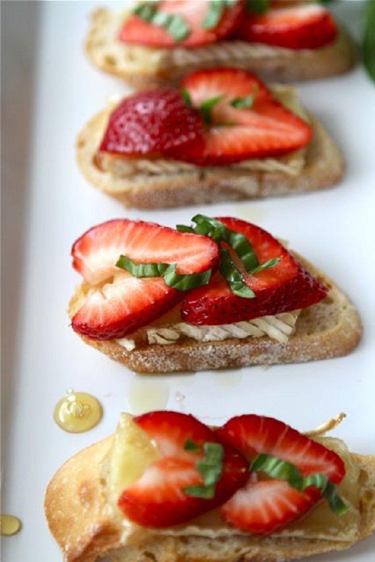 Food friday aardbeien met kaas