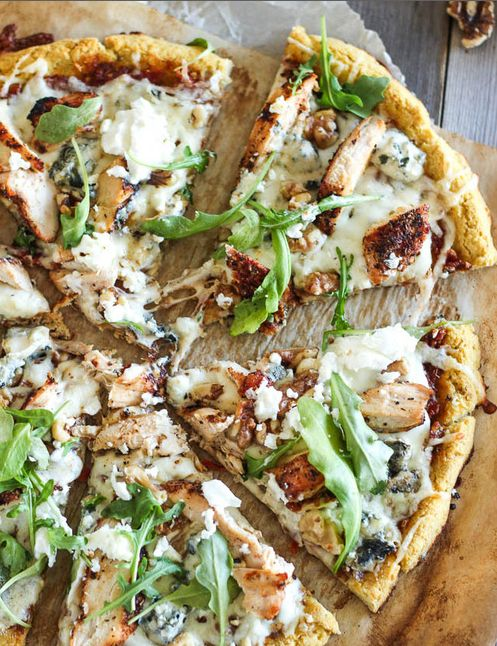Food friday pizza met bloemkool korst