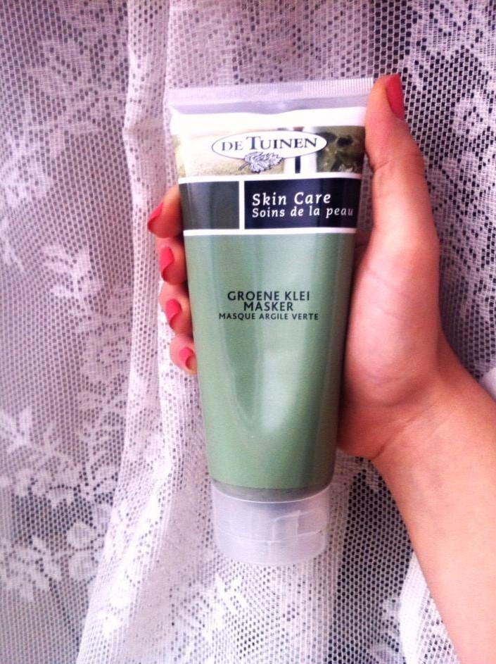 Review Groene klei masker de tuinen verpakking