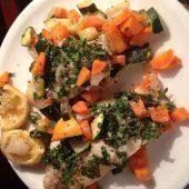 Sheelaghs eetdagboek vis met wortel