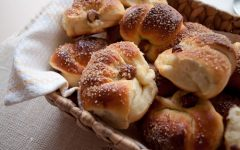Chocolade hazelnoot croissants