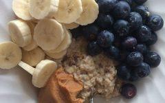 Eetdagboek Britte havermout met fruit