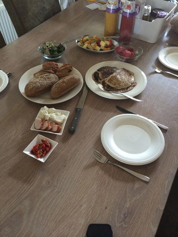Eetdagboek Britte ontbijtje