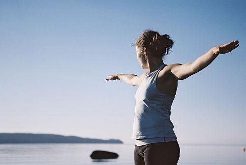 Yoga met uitzicht