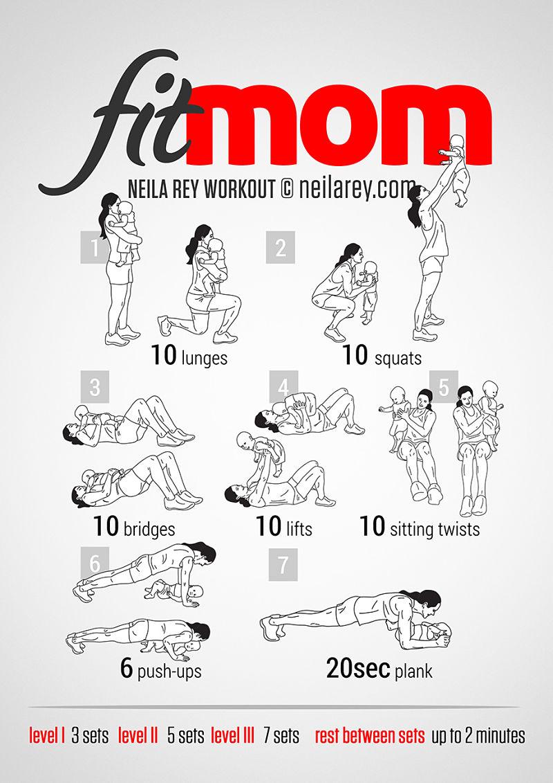 5 minuten workout voor fitte mama's   Feel Magazine