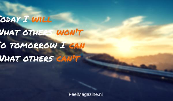 Grenzen verleggen en jezelf motiveren? Doe een Helweek! | Feel Magazine