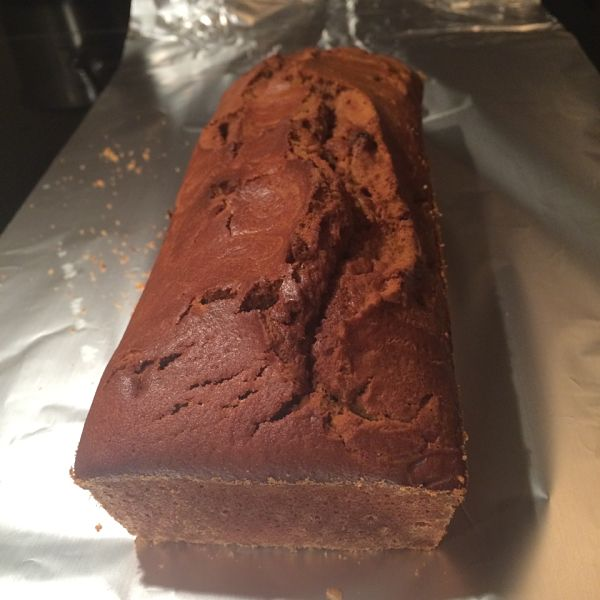Pompoencake klaar