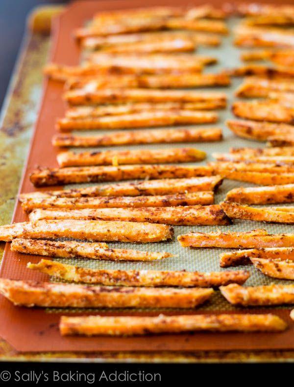 Recepten met zoete aardappel - friet